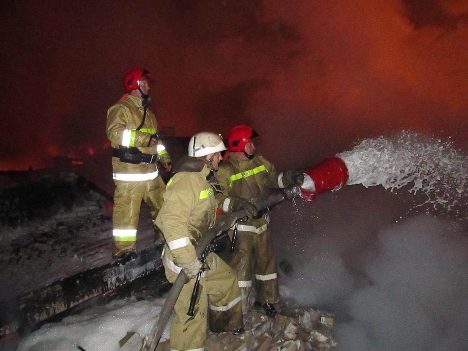 30 апреля — День пожарной охраны России