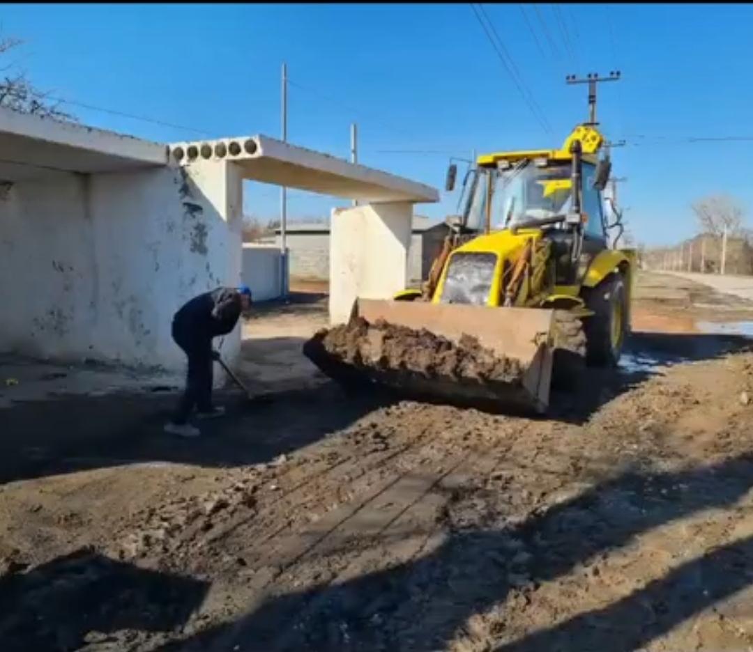 В поселке Коксовом наконец восстановили остановочную площадку