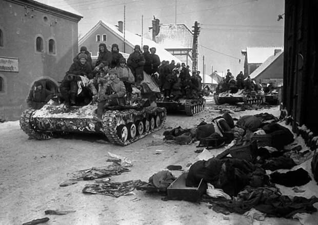25 апреля — 76 лет назад завершилась Восточно-Прусская операция советских войск