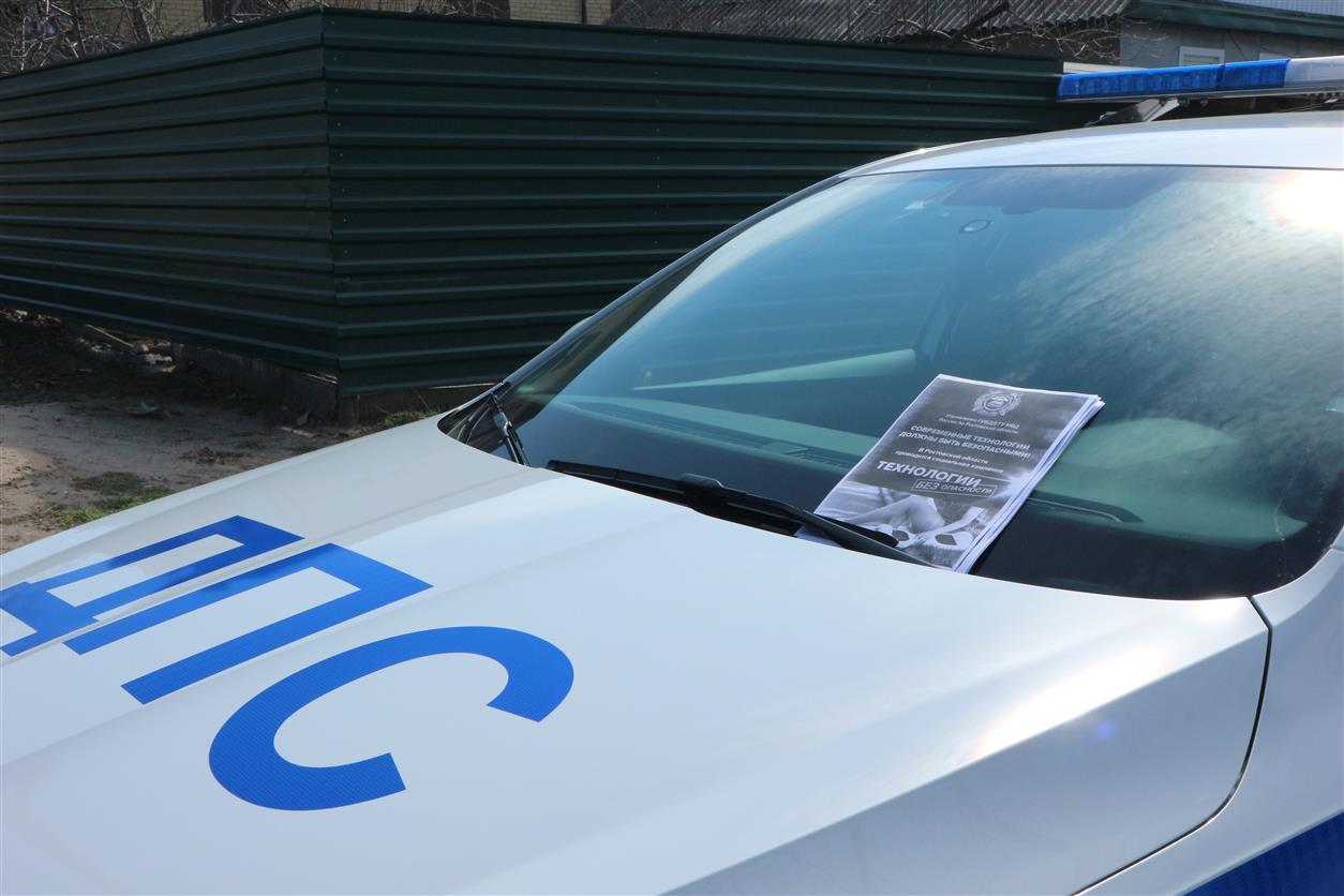 Сотрудники белокалитвинского ГИБДД спасли жизнь водителю