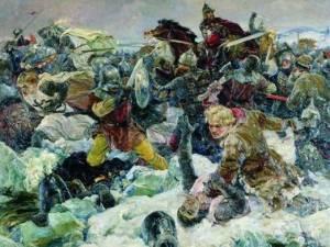 18 апреля — Победа русских воинов князя Александра Невского на Чудском озере