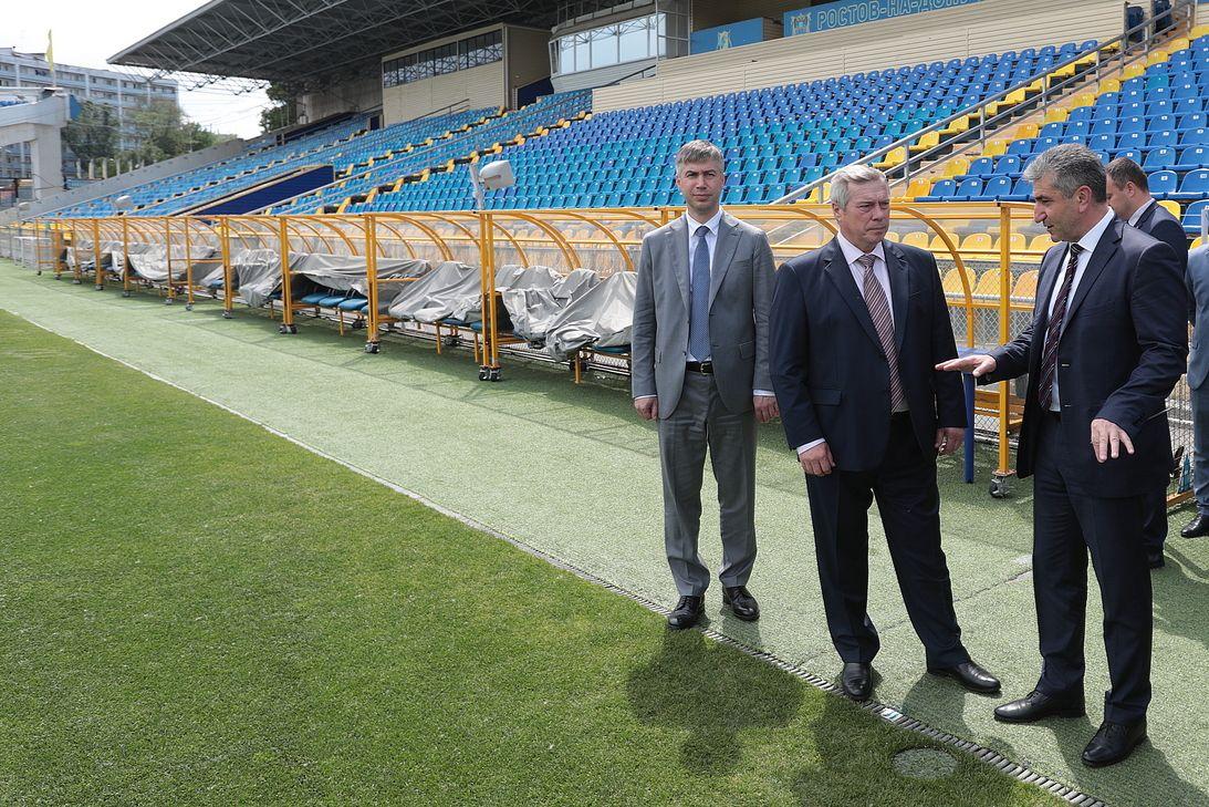 Трибуны открытых стадионов на Дону могут заполняться на 75 процентов