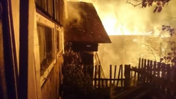 В Хакасии трое детей не смогли выбраться из горящего дома и сгорели заживо