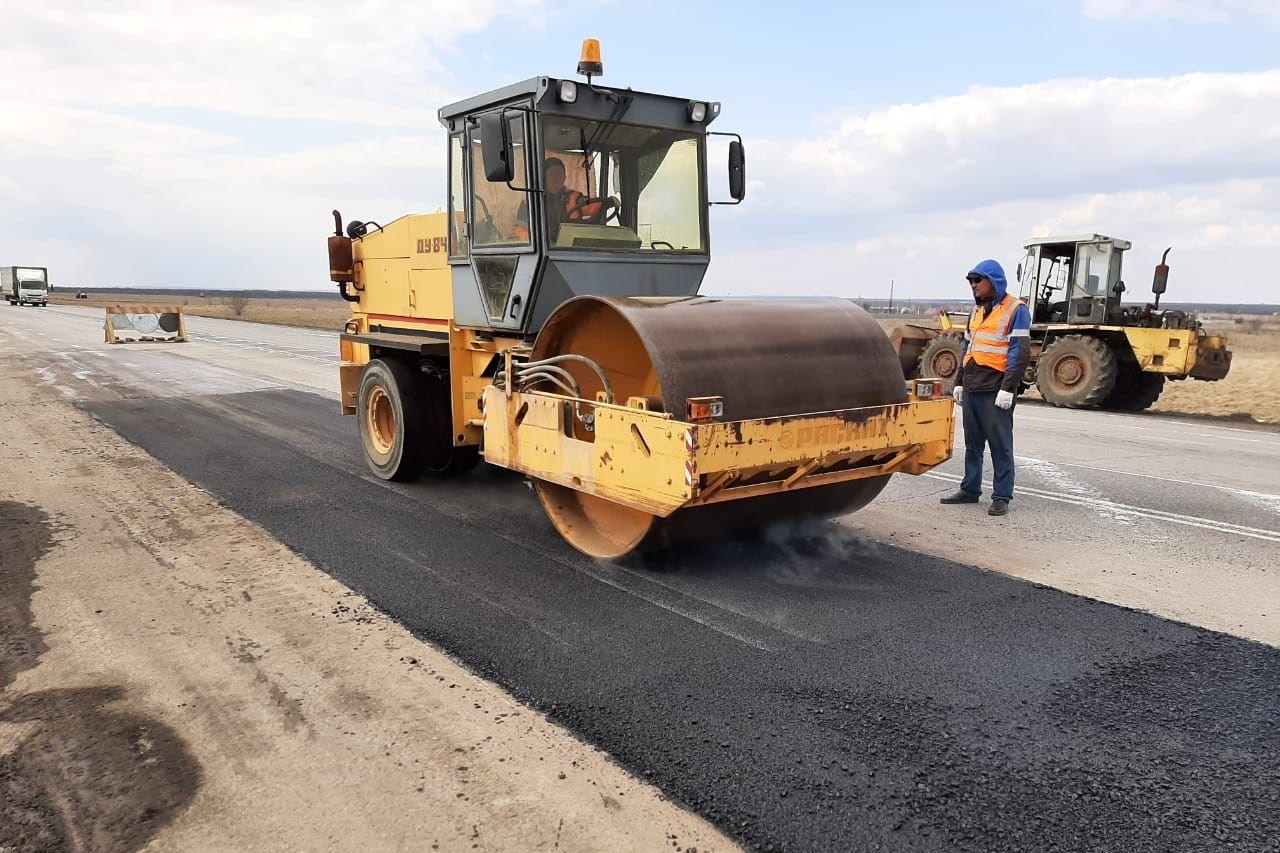 На дорогах устранены дефекты покрытия общей площадью около 110 тысяч «квадратов»
