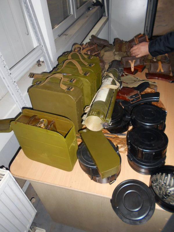 На российско-украинской границе пресекли попытку перевозки продукции военного назначения