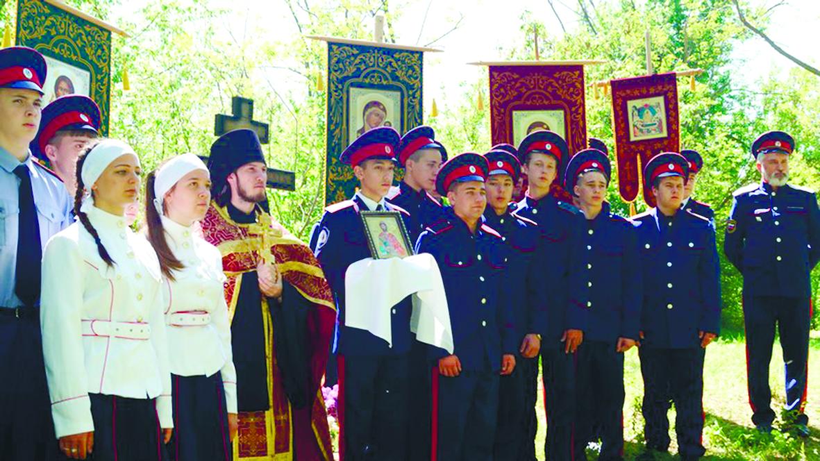 Студенты БККПТ посетили место разрушенного храма Александра Невского в х. Апанасовка