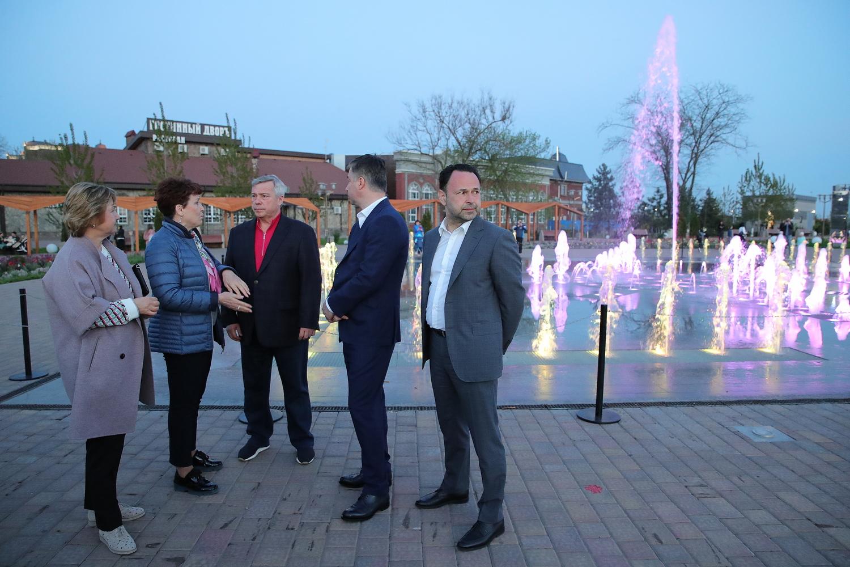 В Ростове-на-Дону появился еще один светомузыкальный фонтан
