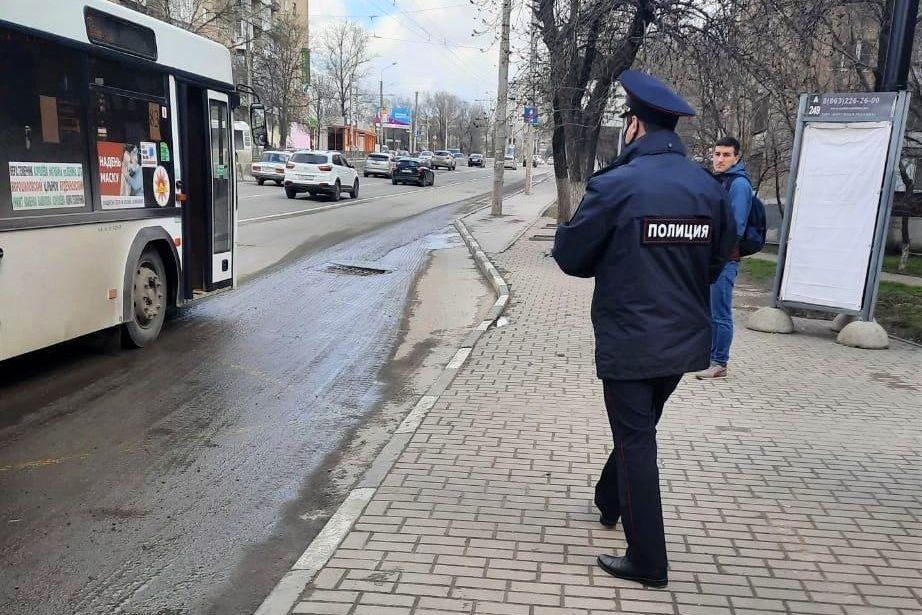 Донской минтранс проводит масочные рейды в общественном транспорте