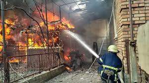 Погиб мужчина: в Таганроге сгорел дом