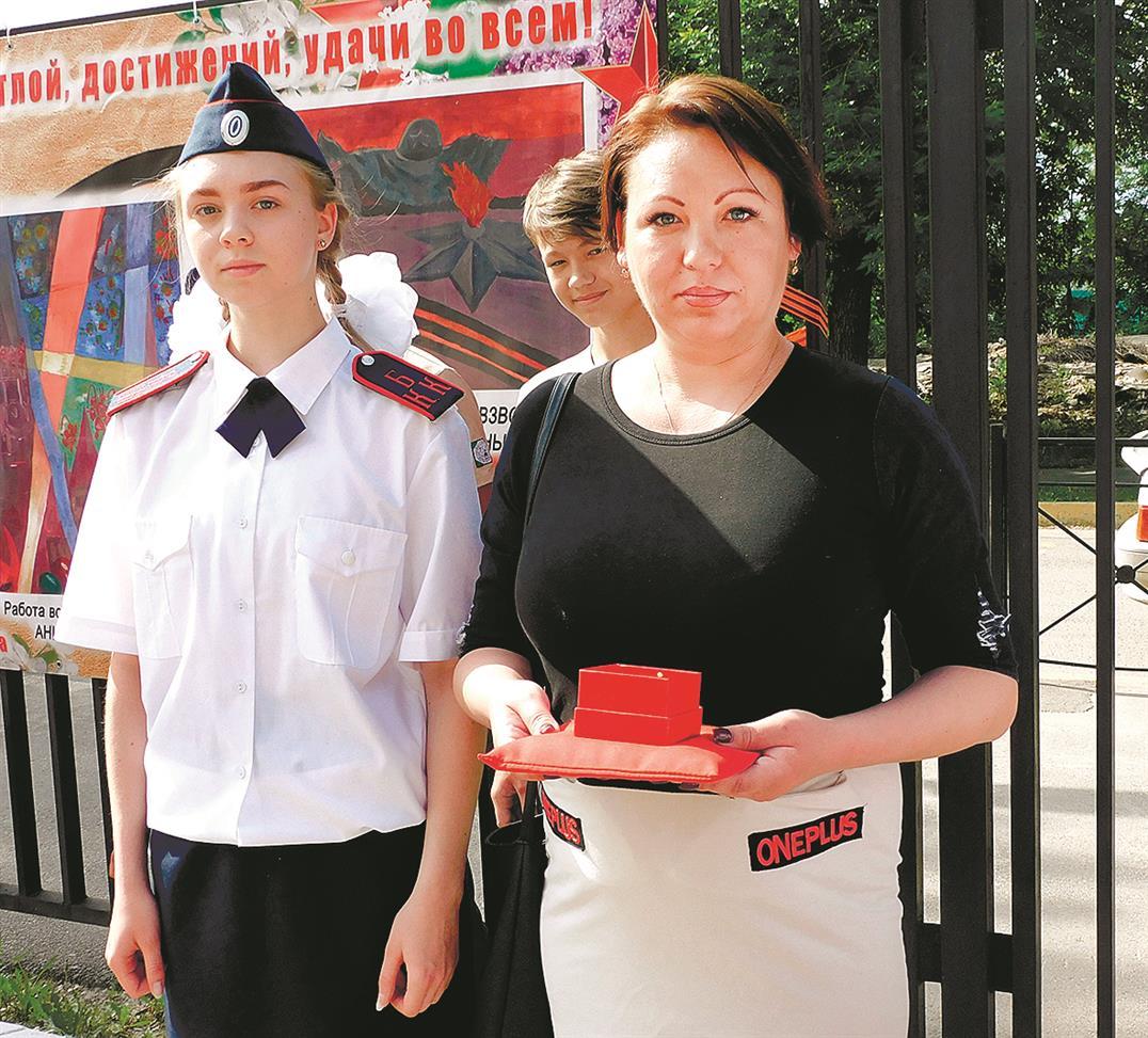 Кадеты Мариинской гимназии нашли родных героя
