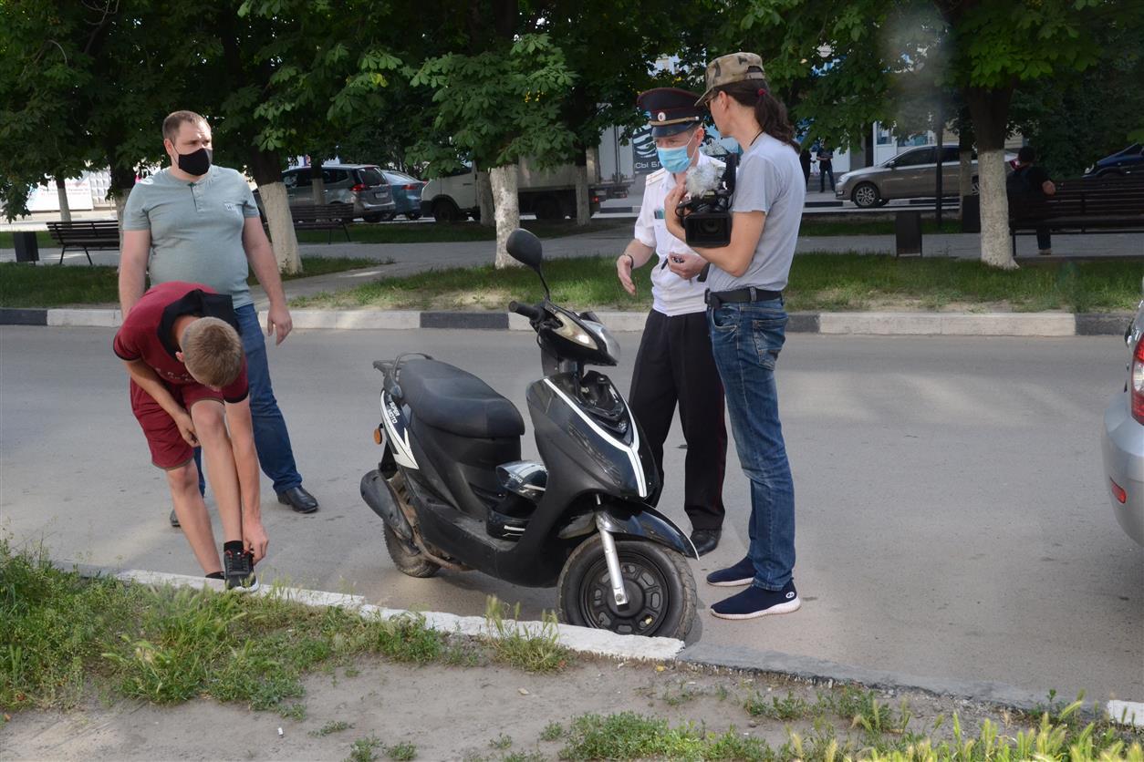 На территории Белокалитвинского района проводится профилактическое мероприятие «Мотоциклист»
