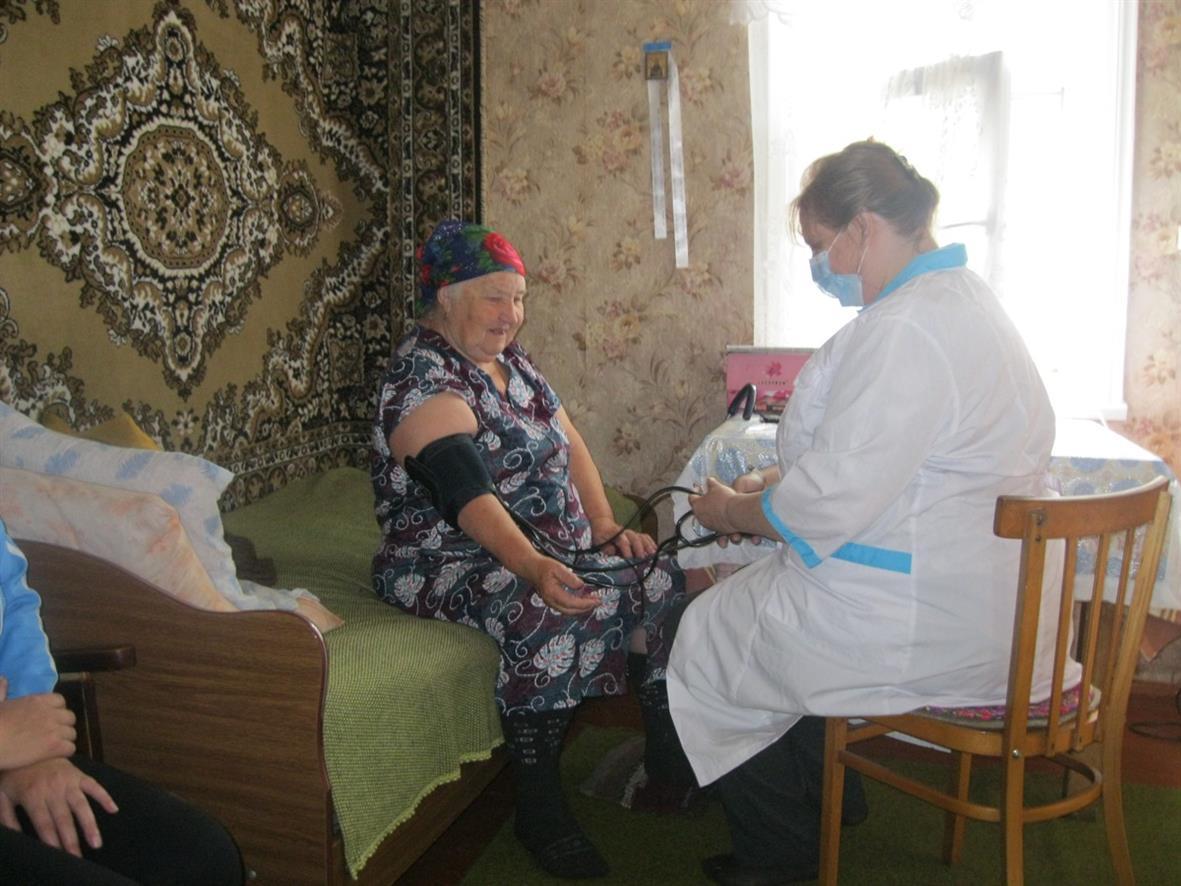 Выезд мобильной бригады на территорию Рудаковского сельского поселения