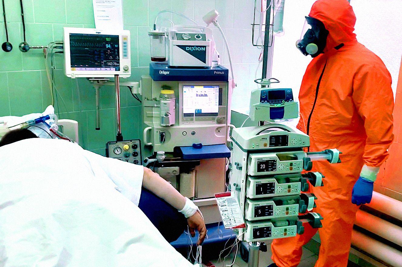 На Дону снижается коечный фонд ковидных госпиталей