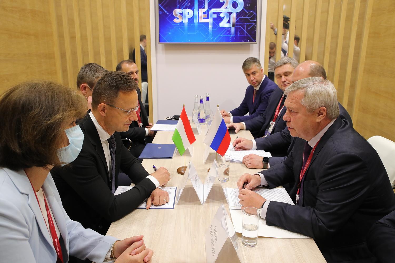 Ростовская область будет развивать сотрудничество с Венгрией