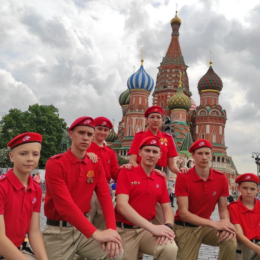 Белокалитвинский юнармеец принял участие во всероссийском молодежном форуме «Дай пять»