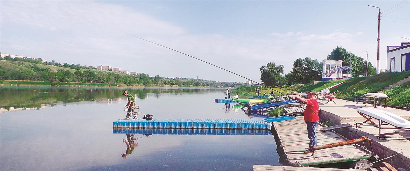 Коксовское сельское поселение заняло первое место в рыбной ловле