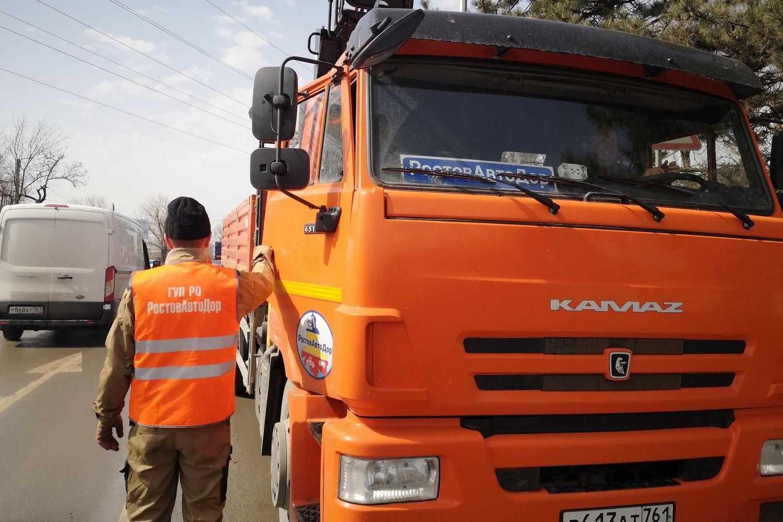 Капитальный ремонт Кагальницкого шоссе в Азове завершен на 68%