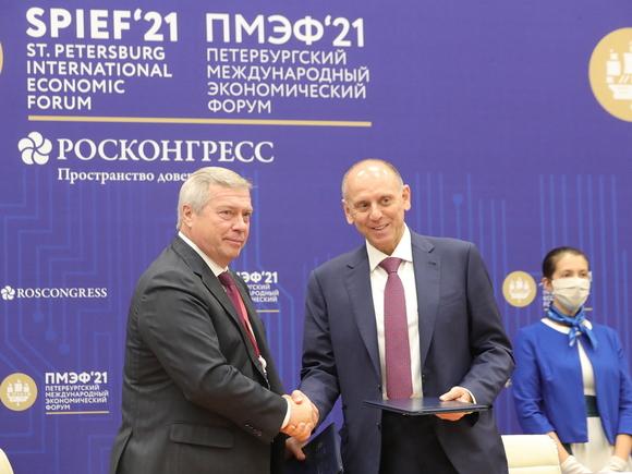 Ростовская область подписала 12 соглашений на 21 млрд рублей
