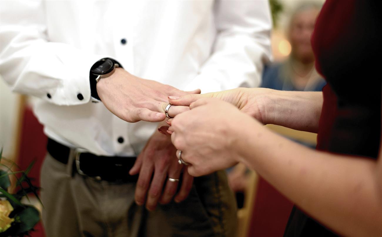 В Белокалитвинском районе за 5 месяцев заключили брак 118 пар