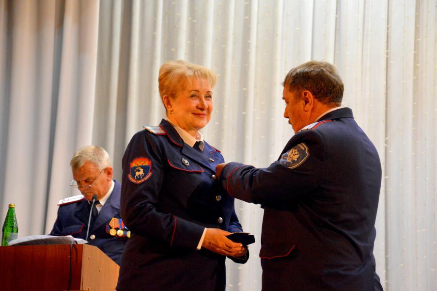 Ольга Мельникова получила награду  «За отличие перед Всевеликим войском Донским»