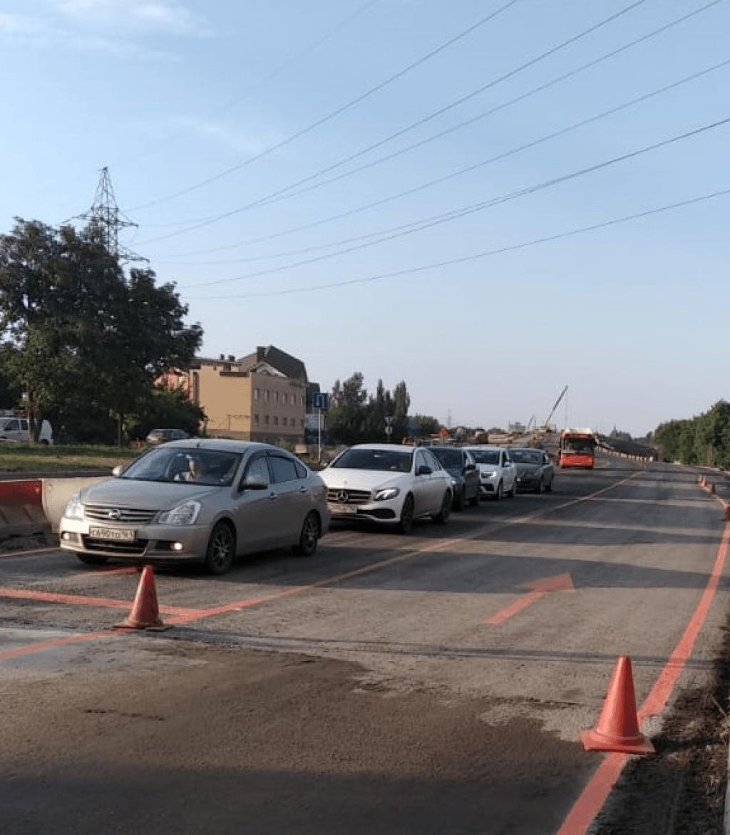 В Ростове открыли движение по мосту на улице Малиновского