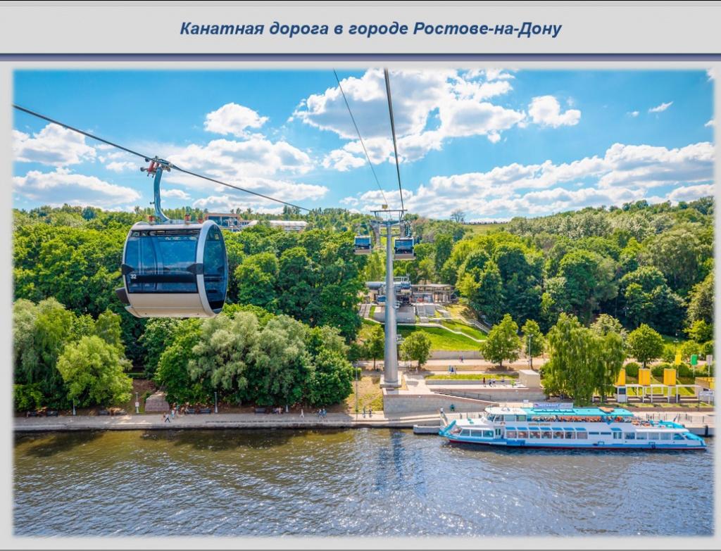 В 2022 года в Ростове разработают проект канатной дороги через Дон
