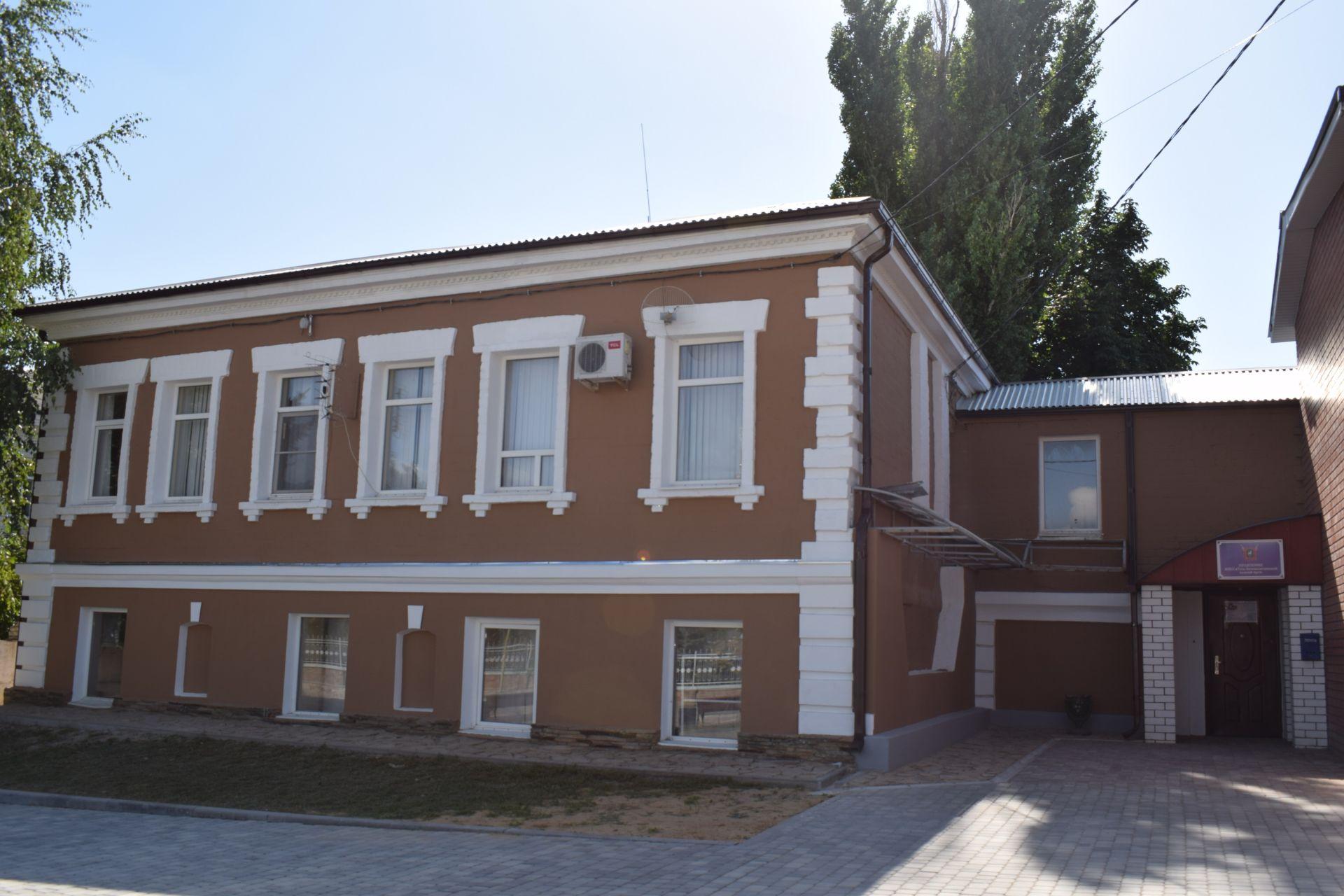 Ремонт «купеческого дома» завершен