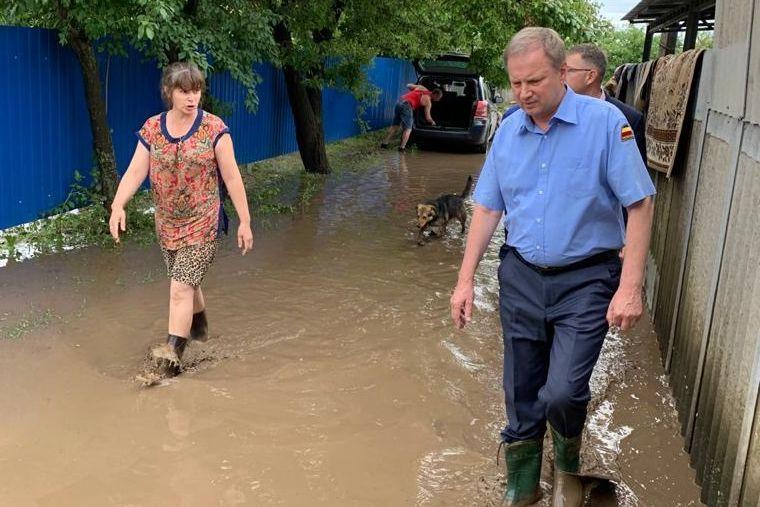 Выделены средства на оказание материальной помощи пострадавшим от стихии жителям Тацинского района