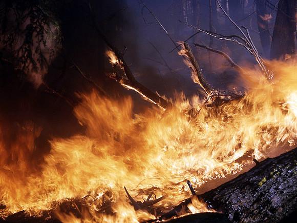 В Якутии лесные пожары подобрались к Светлинской ГЭС