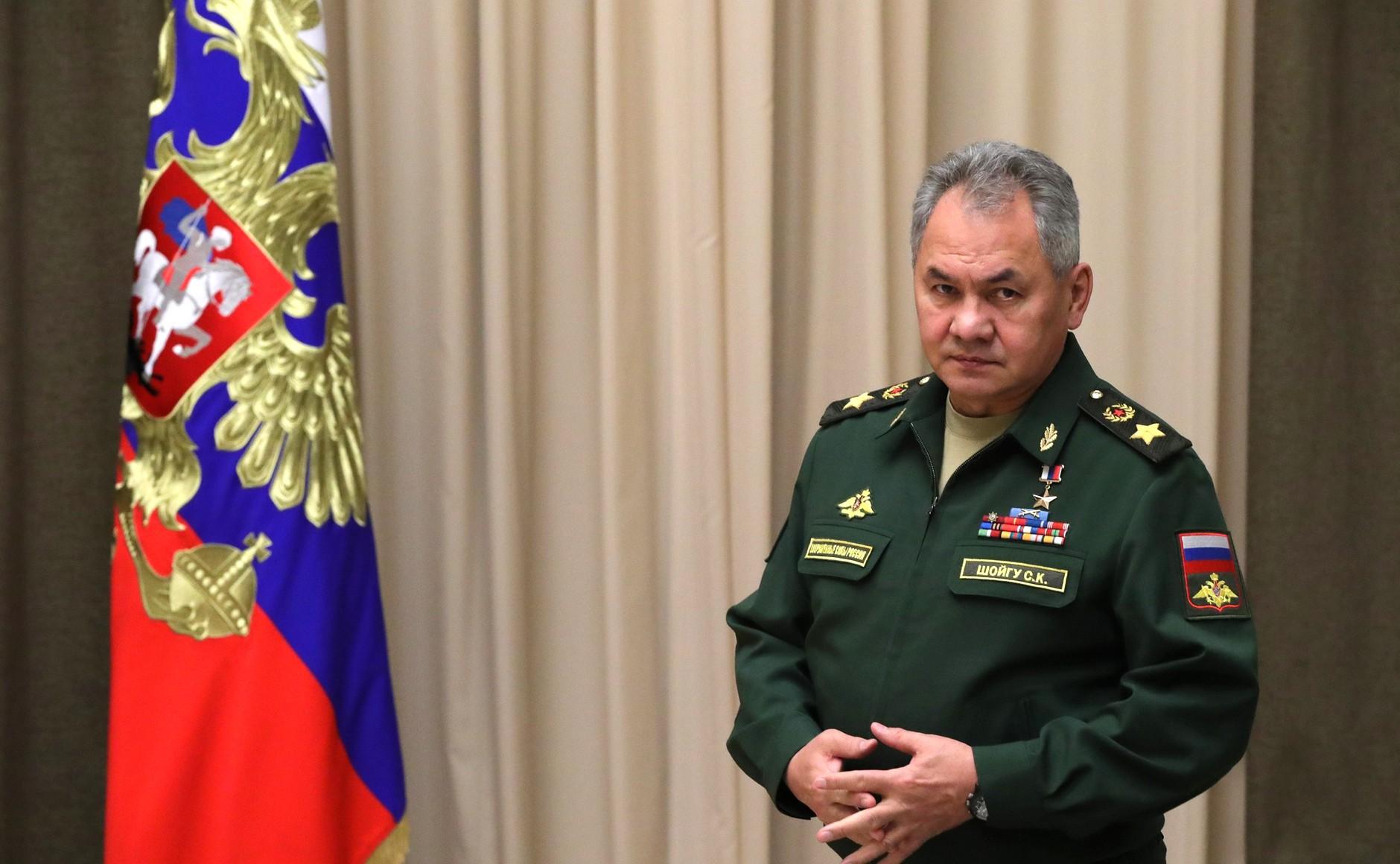 Шойгу проверит соединения и воинские части в Ростове-на-Дону