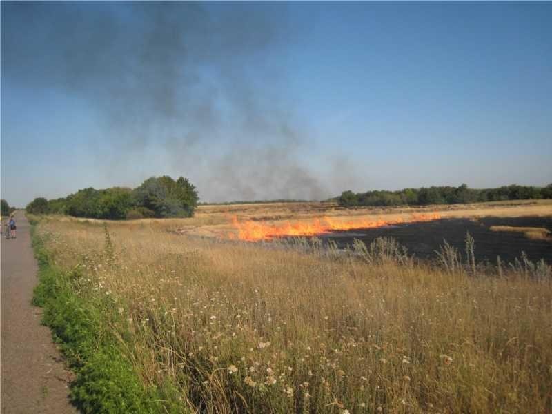 В районе ожидается чрезвычайная пожароопасность