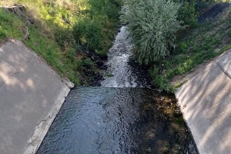 1000 метров русла реки Темерник расчищено от загрязнения