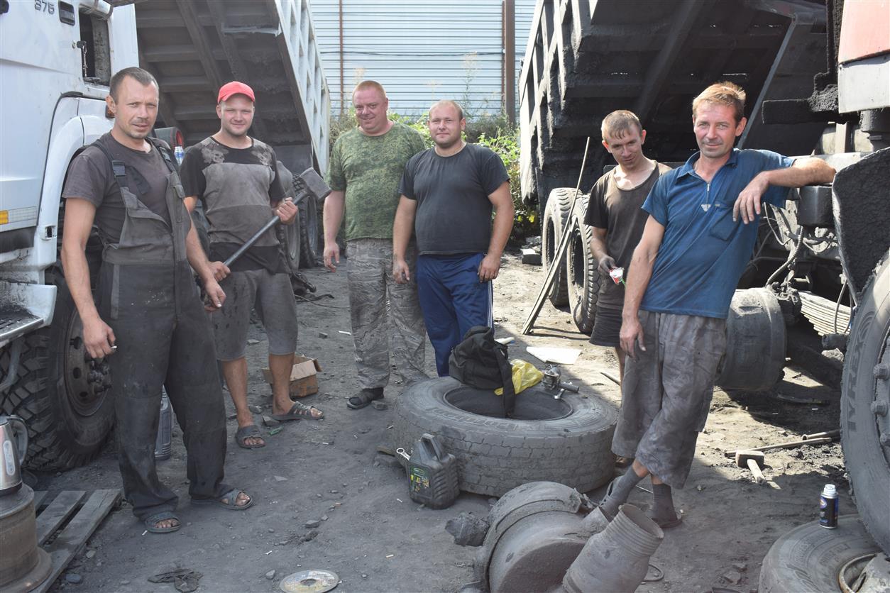 «Автоколонна-1991» уже 30 лет обслуживает шахту «Садкинская»