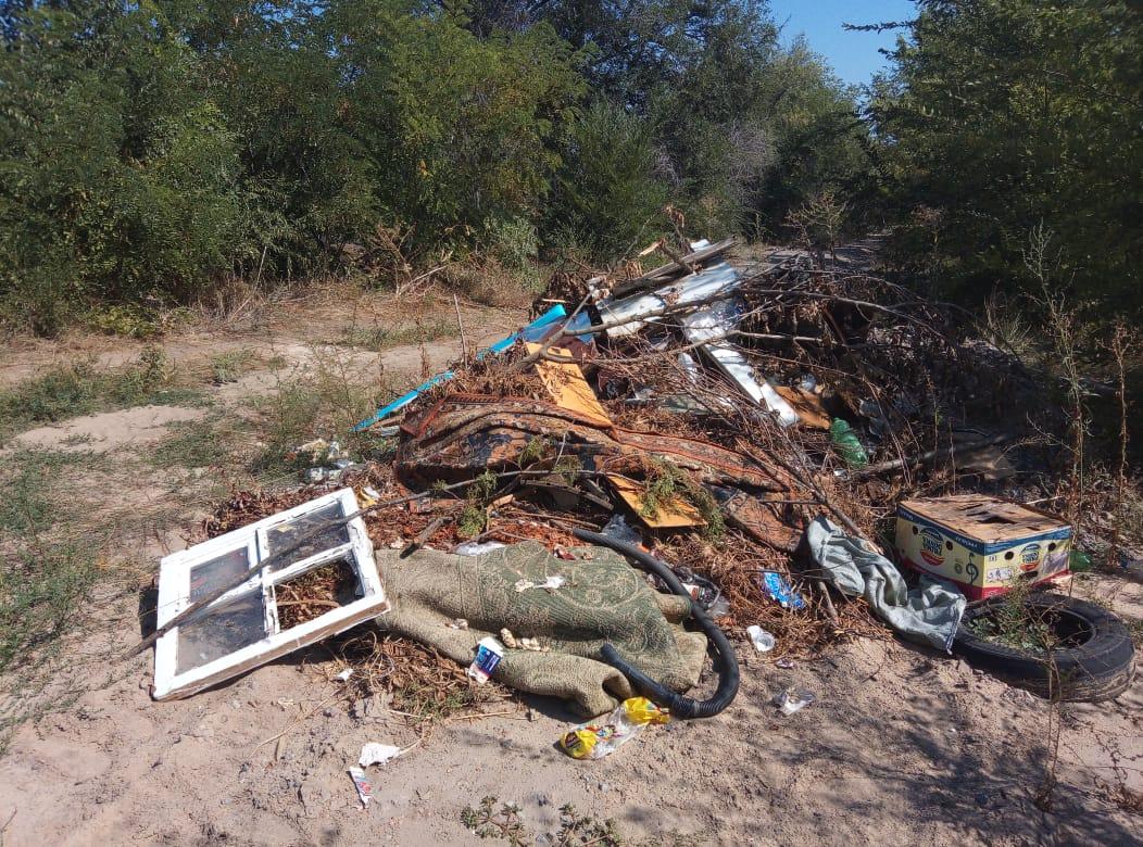 На Караул-горе мусорный полигон?