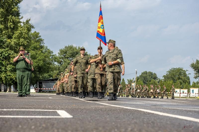 Казачья рота территориальной обороны вернулась с предварительного этапа российско-белорусских учений «Запад 2021»