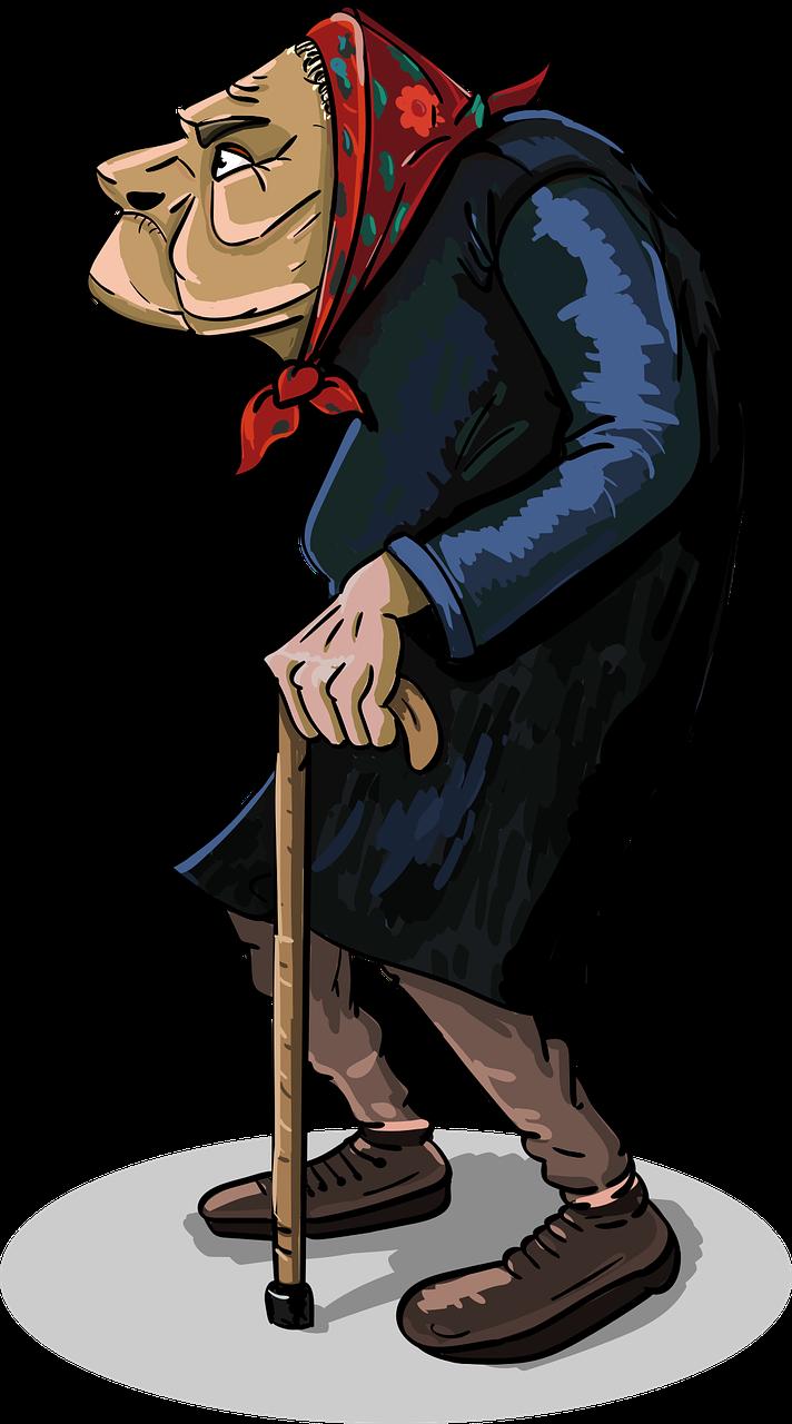 Опасная пенсионерка