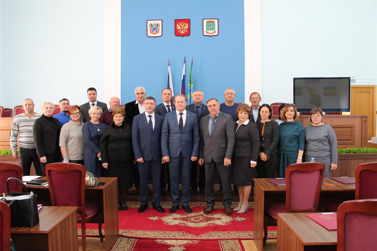Состоялось первое заседание Собрания депутатов Белокалитвинского района седьмого созыва