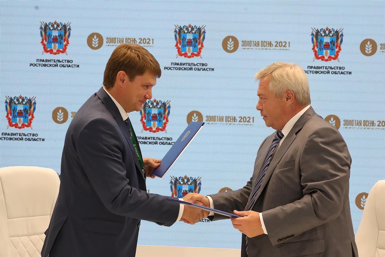 Почти 2 млрд рублей инвестиций направлено на создание мощного зернового терминала в Ростовской области