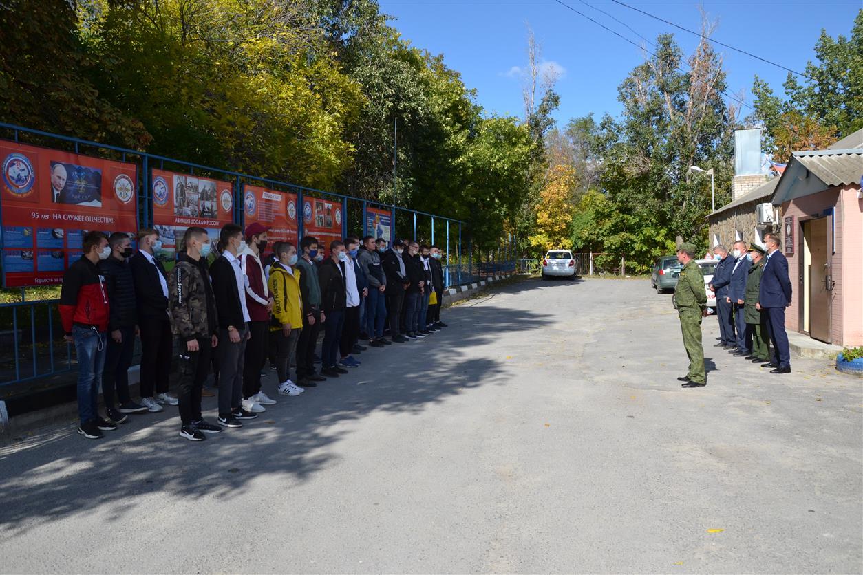 В Белокалитвинском ДОСААФ-е начали обучение будущие призывники